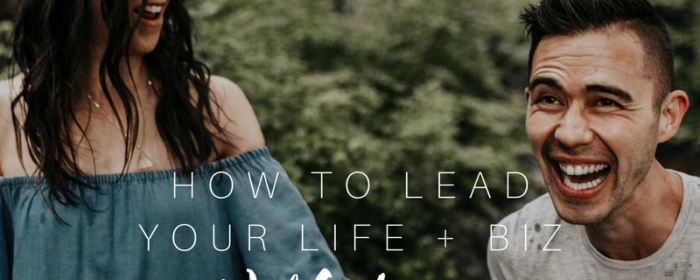 How to Lead Your Life + Business with Love! (My fiancé + I Riff!)