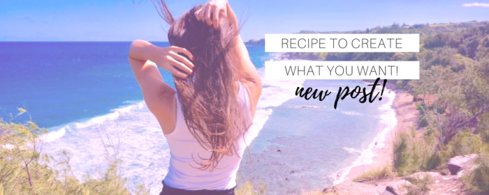 The Secret Recipe to Achieve What You Want!